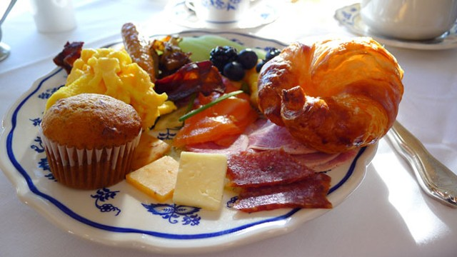 Breakfast at Trapp Family Lodge