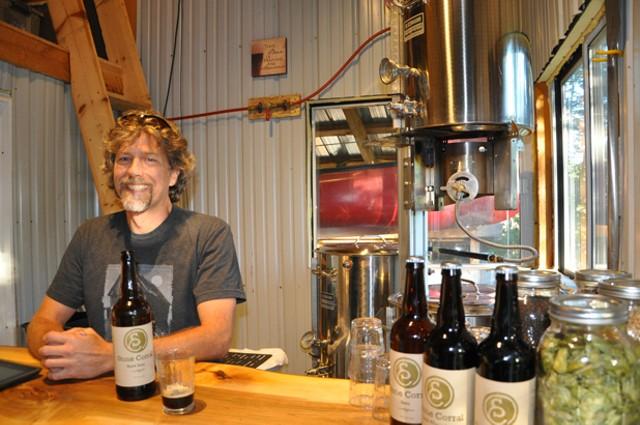 Bret Hamilton of Stone Corral Brewery