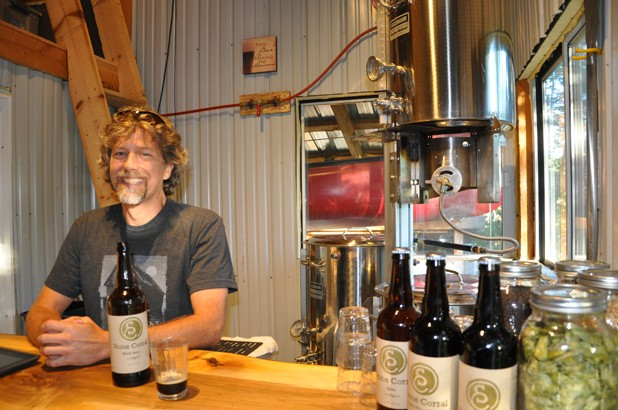 Bret Hamilton of Stone Corral Brewery