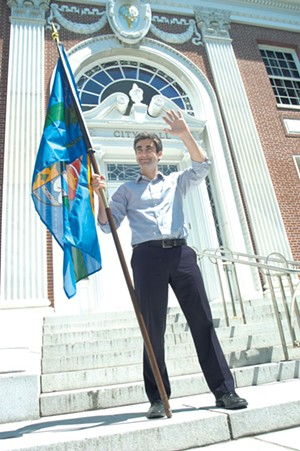 Burlington Mayor Miro Weinberger - FILE: MATTHEW THORSEN