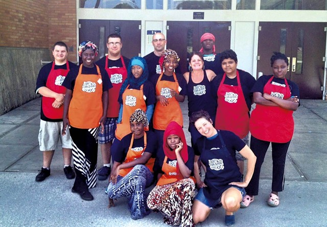 Burlington School Food Project