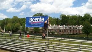 Buzz Builds on Bernie Sanders' Big Day