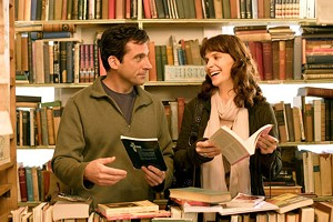 BY THE BOOK Carell and Binoche attempt to breathe fresh life into a premise that's hardly novel