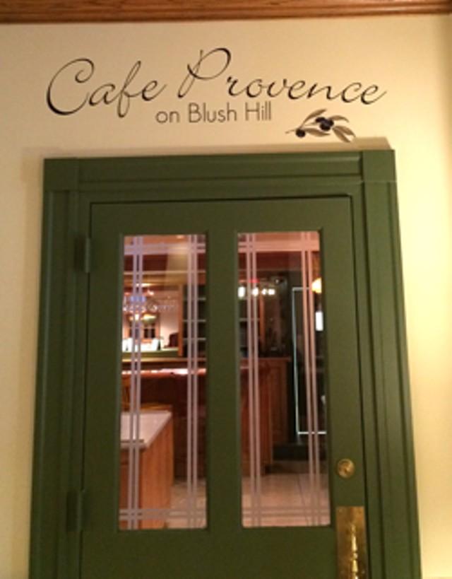 Café Provence on Blush Hill