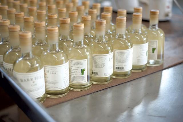 Caledonia Spirits' Barr Hill Gin - NATALIE WILLIAMS