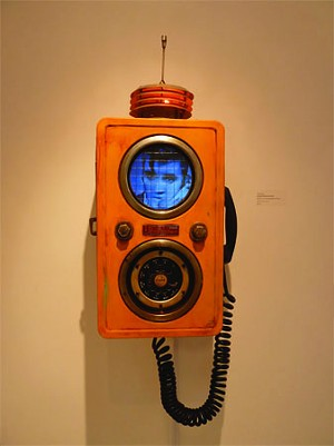 COURTESY OF S.P.A.C.E. GALLERY/THE SODA PLANT - Calling Elvis by Andy Meyer