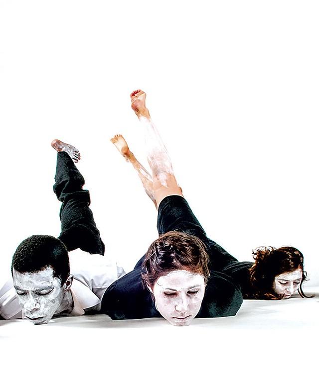 Cameron McKinney, Jill Moshman and Isabella Tudisco-Sadacca - COURTESY OF ALAN KIMARA DIXON