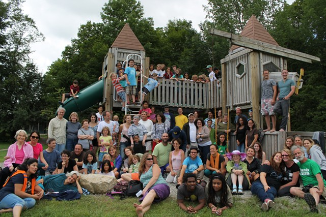 Campers in July 2013 - COMMON GROUND CENTER