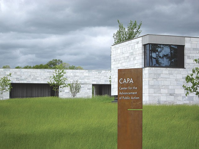 CAPA building at Bennington College