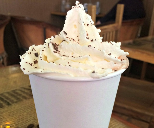 Capitol Grounds' hot chocolate