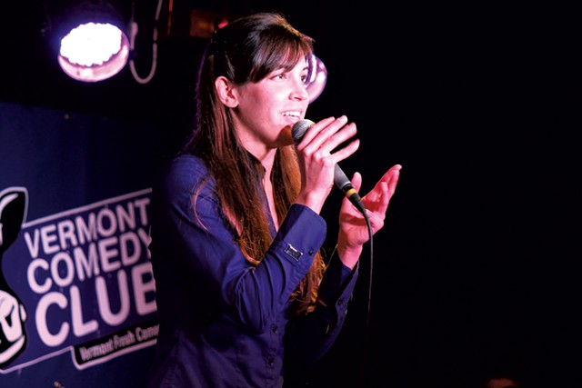 Carmen Lagala - COURTESY OF VERMONT COMEDY CLUB
