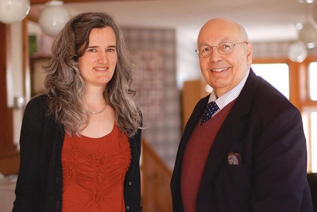 Carolyn Kuebler and Stephen Donadio