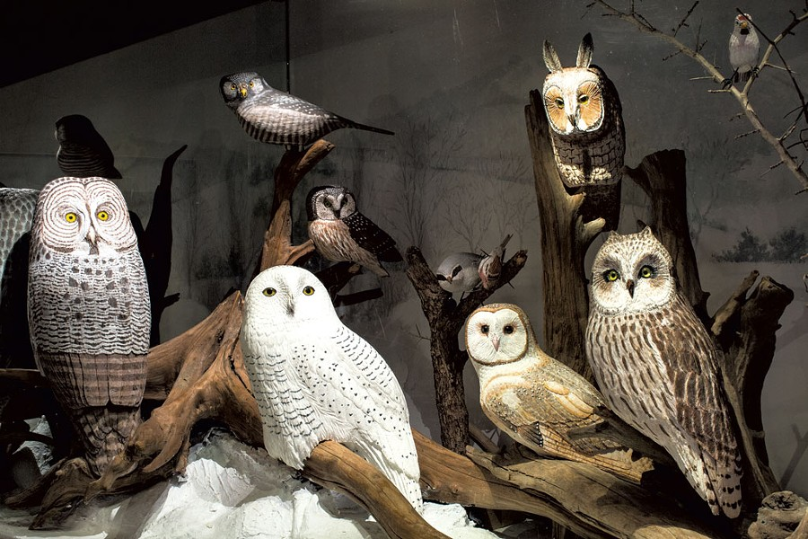 Carved birds by Bob Spear - FILE PHOTO: OLIVER PARINI