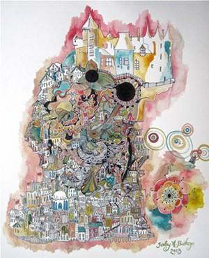 "COURTESY OF HALEY BISHOP - ""Castle on Top"" by Haley Bishop"