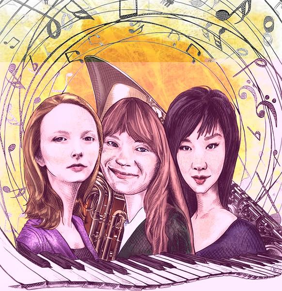 Cecelia Daigle, Lydia Busler-Blais, Su Lian Tan