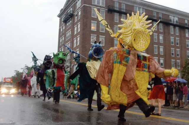 Champlain 400 Parade in 2009