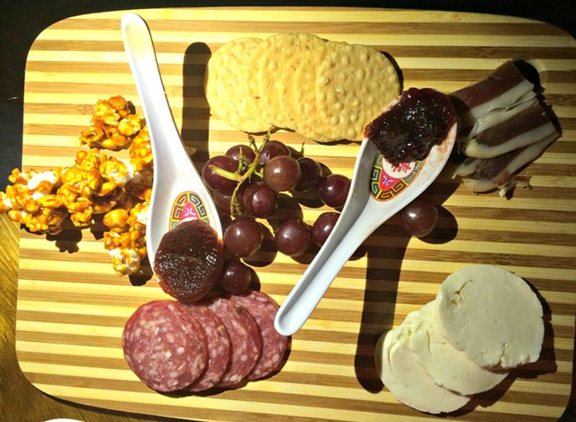 Cheese and charcuterie plate - ALICE LEVITT