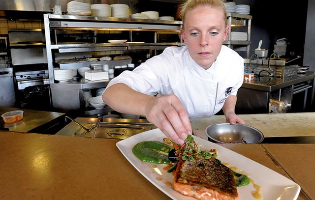 Chef Cortney Quinn of Topnotch Resort & Spa in Stowe