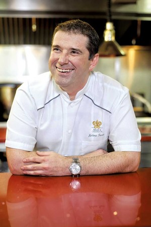 Chef Jérôme Ferrer - COURTESY OF EUROPEA