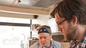 Chef-owners Nathaniel Wade and Aaron Josinsky