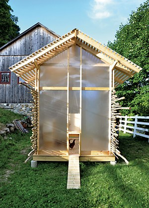 Chicken Chapel by Keith Moskow - COURTESY OF LYNDA MCINTYRE