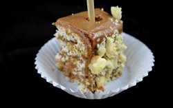 """Chocolate Hazelnut Torte"" by Evelyn Martin of Evelyne's on Center in St. Albans - MATTHEW THORSEN"