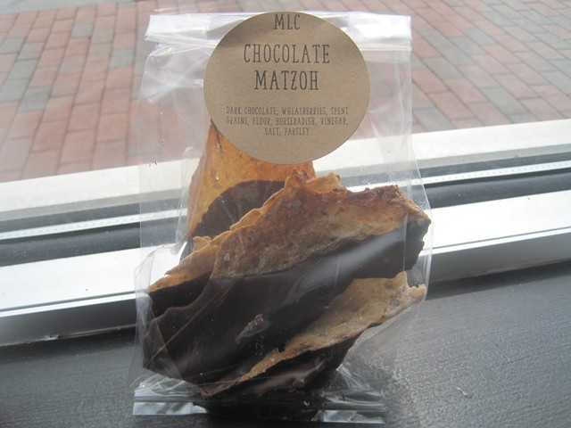 Chocolate matzoh, for the holidays