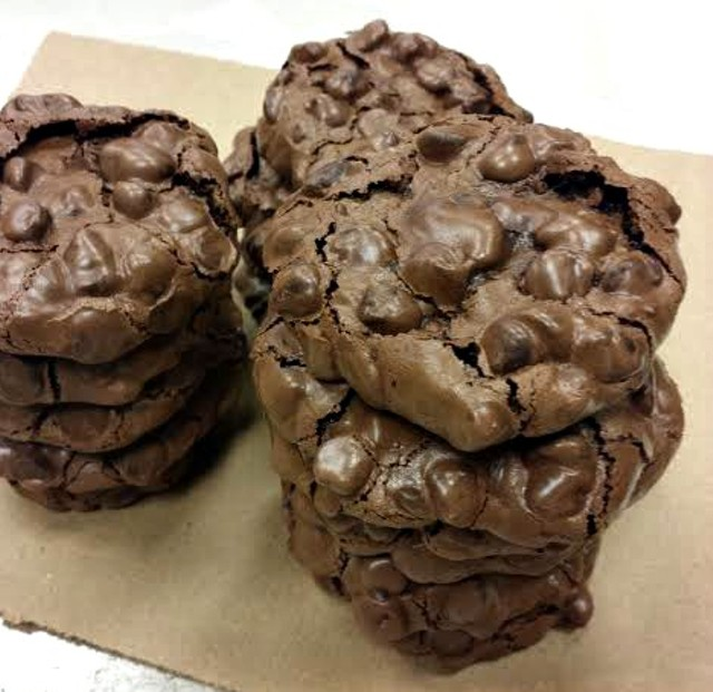 Chocolate meringue cookies - PHOTO COURTESY OF EMILY CONN