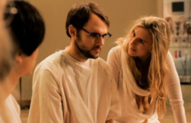 Christopher Denham and Brit Marling
