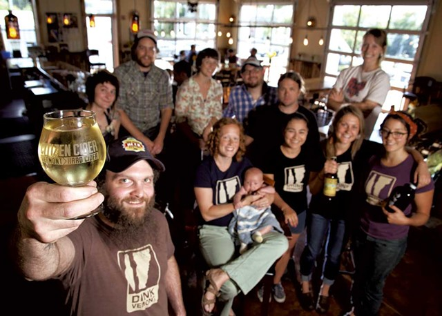 Citizen Cider staff at the tasting room - MATTHEW