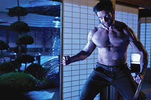CLAWS FOR CONCERN Jackman shows off his usual assets in the latest X-Men spin-off.