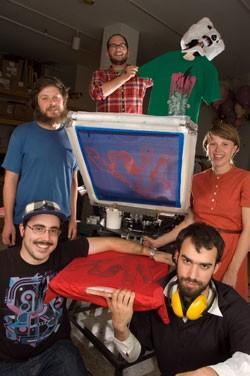 clockwise from top: Dale Donaldson, Julia Lewandoski, Graham Keegan, Mike Porrata and Nick Mavodones - MATTHEW THORSEN