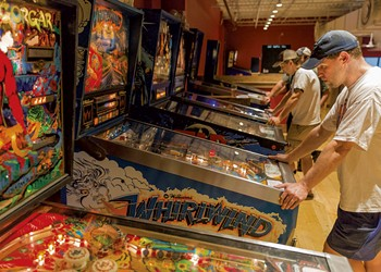 Competitive Pinball Takes the Plunge at Tilt