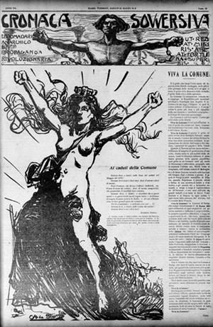 Cronaca Sovversiva, March 20, 1909 - COURTESY OF VERMONT DIGITAL NEWSPAPER PROJECT