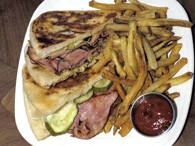Cubano sandwich - MATTHEW THORSEN