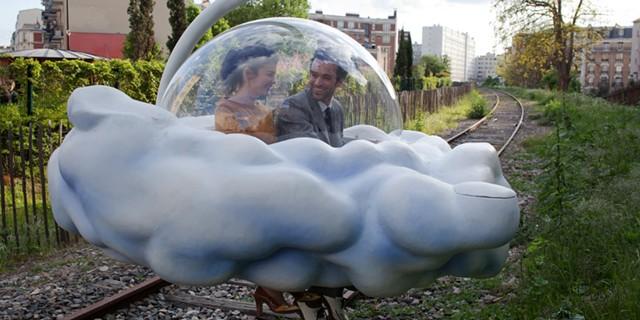 Cumulonimbus zaniness in Mood Indigo - BURLINGTON CITY ARTS