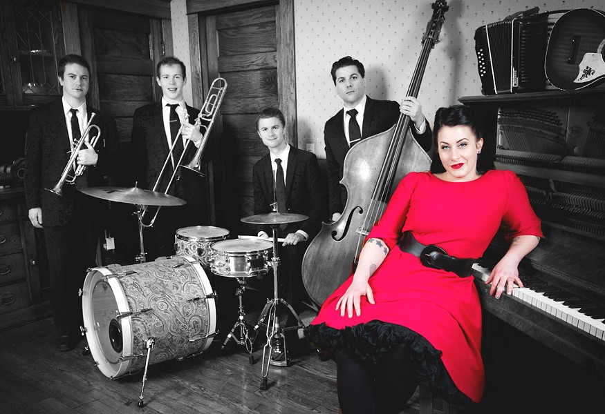 Davina and the Vagabonds - COURTESY OF DAVINA AND THE VAGABONDS