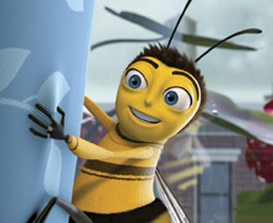 DEAD STINGER Despite all the, um, buzz, Jerry Seinfeld's animated flick is long on wordplay and short on wit.