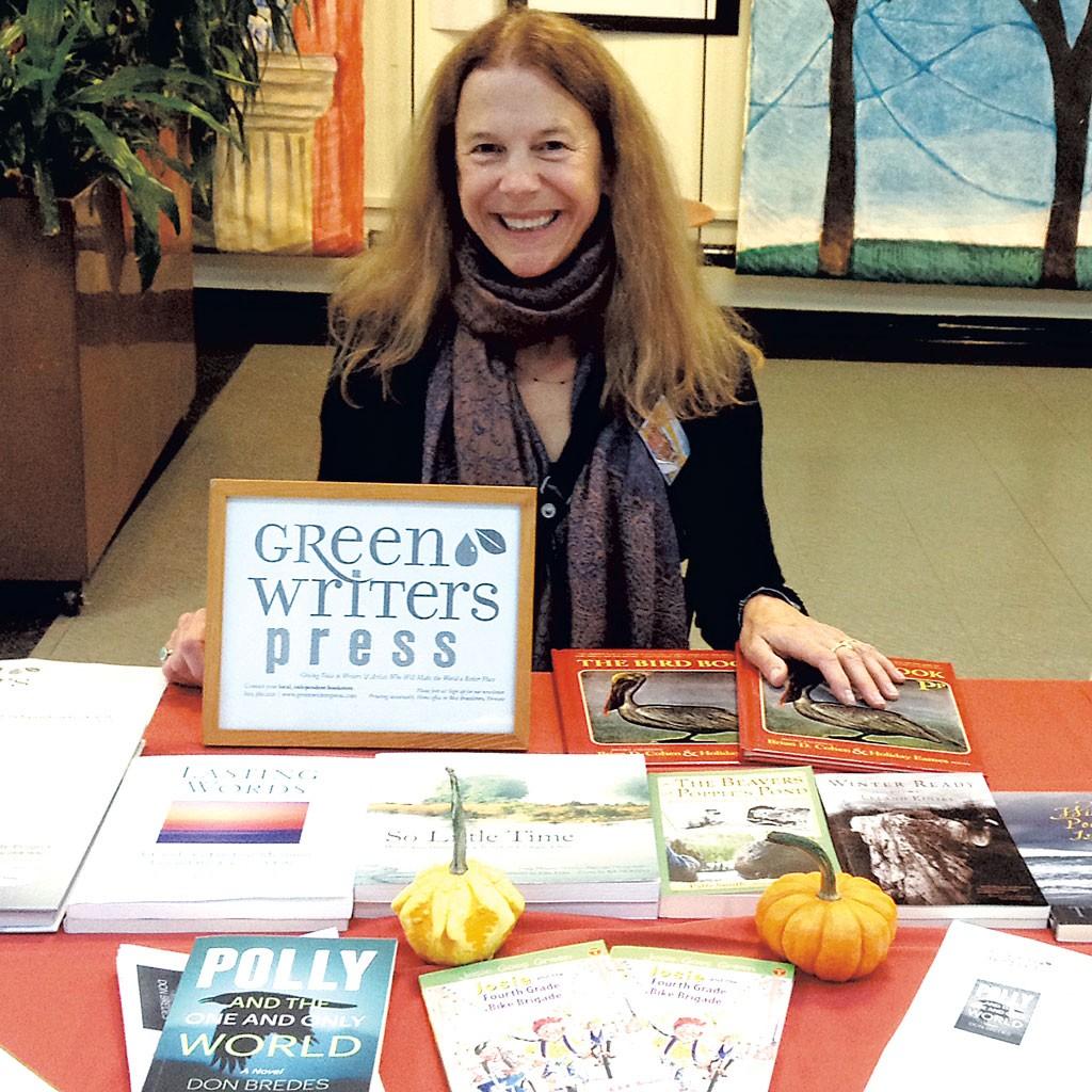 Dede Cummings of Green Writers Press - COURTESY OF DEDE CUMMINGS