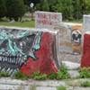 Defaced Waterfront Sculptures Face Uncertain Future