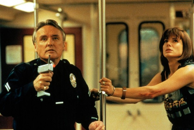 Dennis Hopper and Sandra Bullock in 'Speed' - TWENTIETH CENTURY FOX PICTURES