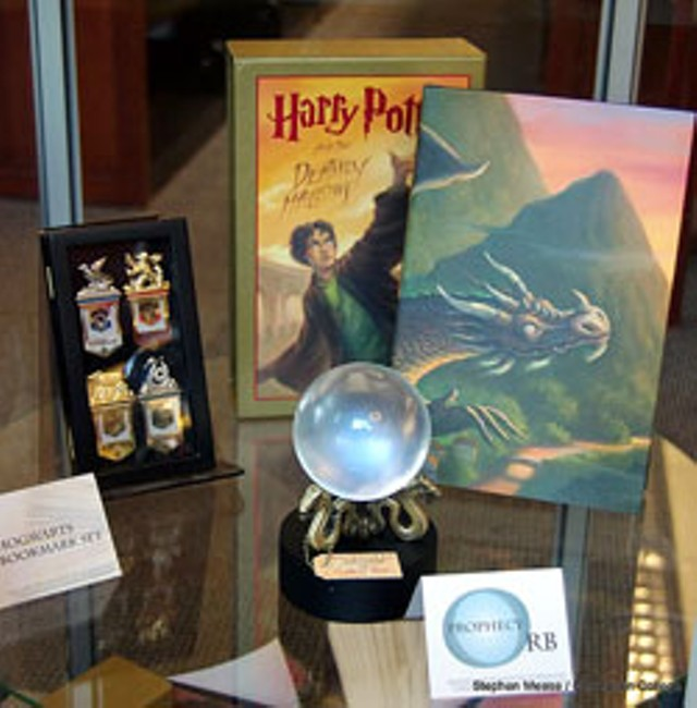 Detail, Harry Potter Exhibit