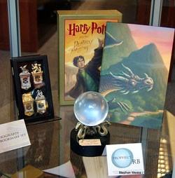 Detail, Harry Potter Exhibit