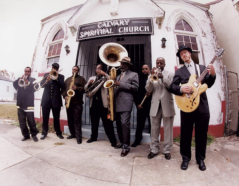 Dirty Dozen Brass  Band, who will perform at SolarFest