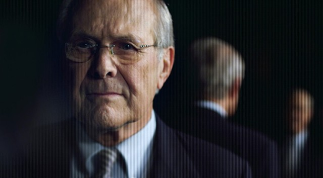 Donald Ducks: Rumsfeld deflects, dodges and deceives his way through 103 minutes of questioning in the latest from legendary documentary filmmaker Errol Morris