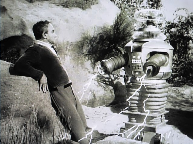 Don't mess with the Robot, Dr. Smith. - LOSTINSPACE.WIKIA.COM