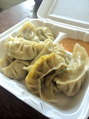 Dumplings at Nepali Dumpling House - JOHN JAMES