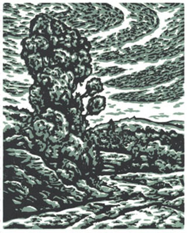 """East Hardwick"" by Phillip Robertson"