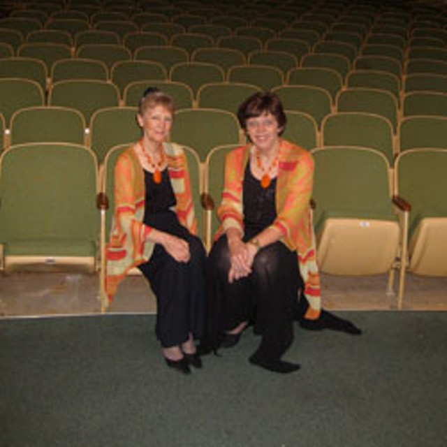 Elaine Greenfield and Janice Meyer Thompson