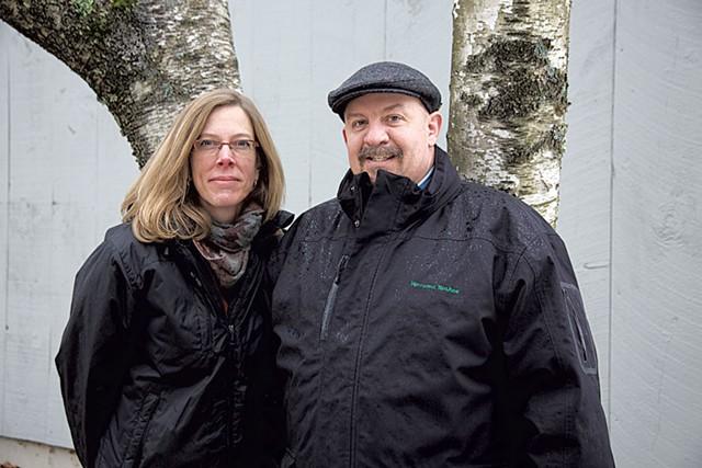 Ellen and Jeff Merkle - DAVID SHAW